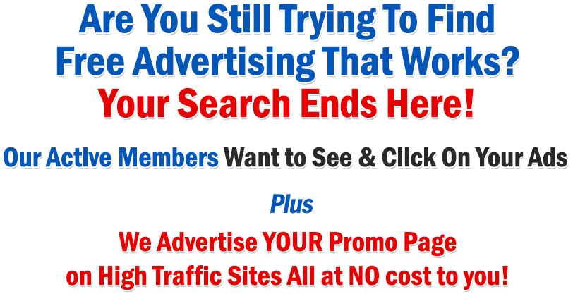 freeadvertisingforyou free traffic exchange free advertising free